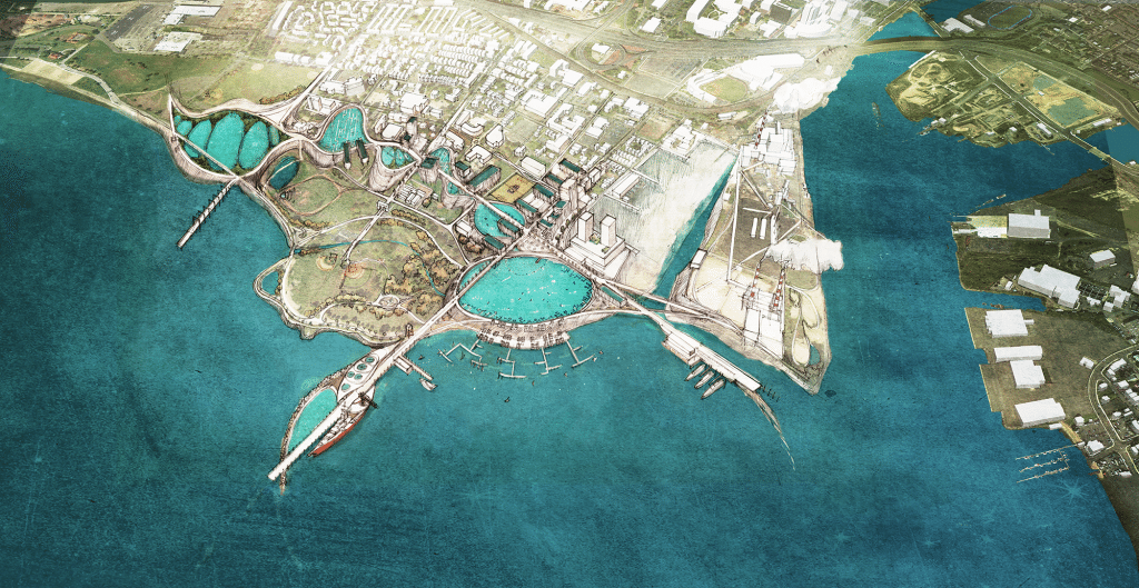 Overview Aerial of proposal