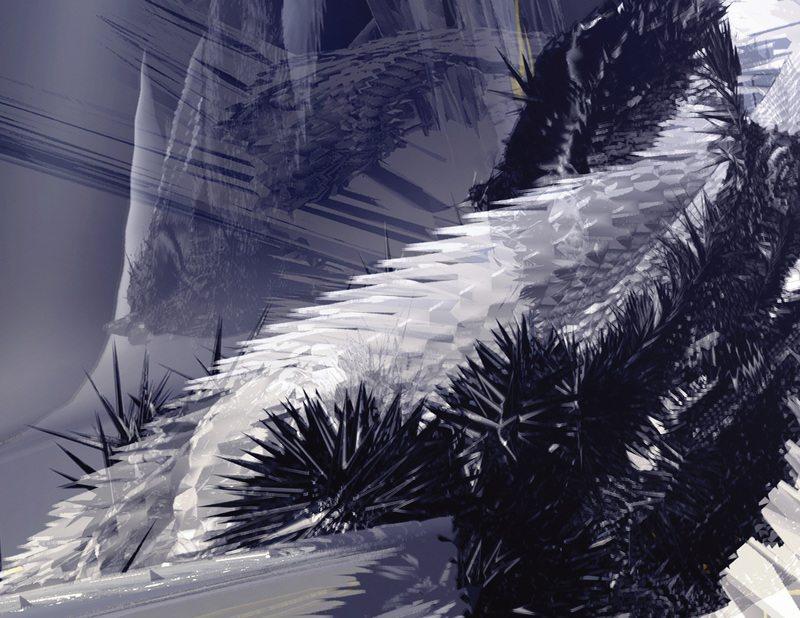 Digital Form Finding (Rhino, Maya+Mental Ray, Photoshop)