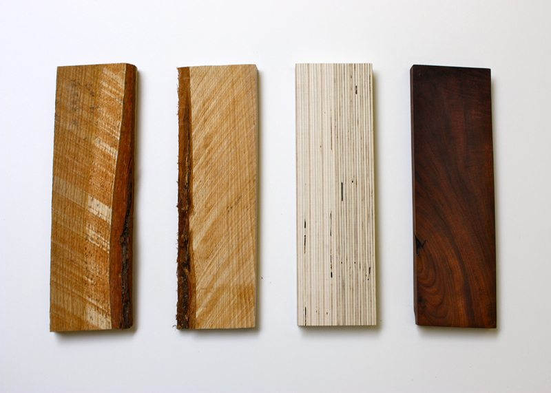 The 'Wood Block' was a study in authenticity and counterfeiting in which an original piece of wood was replicated, copied, engineered, and/or made out of a higher-level of material. The study was meant to evoke the question of the authenticity of the counterfeit and how a replicate can feel just as real, if not more so, than the original.
