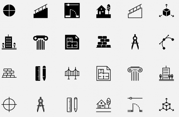 The now project Icons